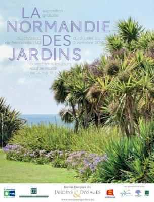8 la normandie des jardins 30x40 print 1