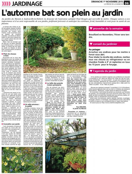 Article 1 presse de la manche