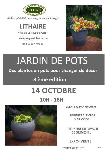 Jardin de pots affiche 2018 1