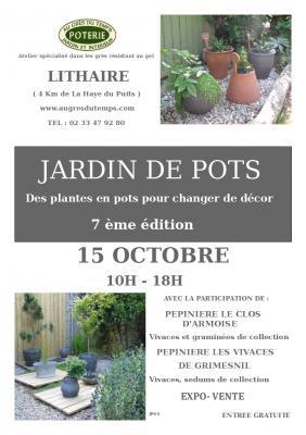 Jardin de pots affiche 2019