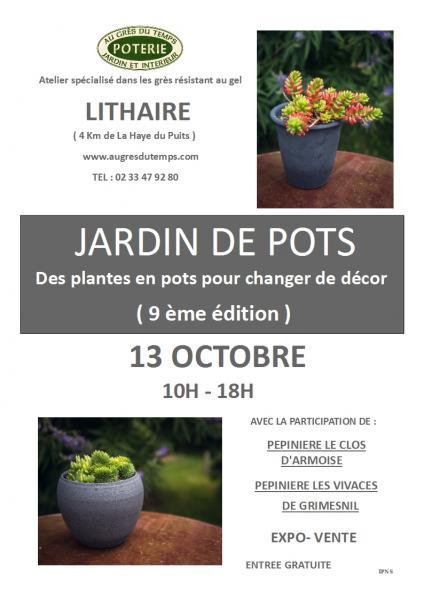 Jardin de pots affiche 2020